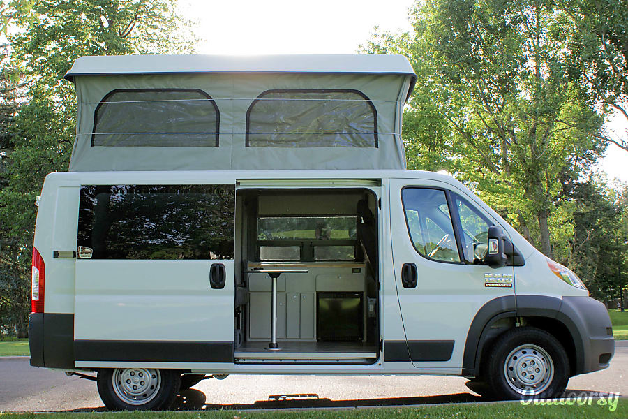 Dodge Promaster Van >> 2017 Dodge Promaster Motor Home Camper Van Rental In Lakewood Co