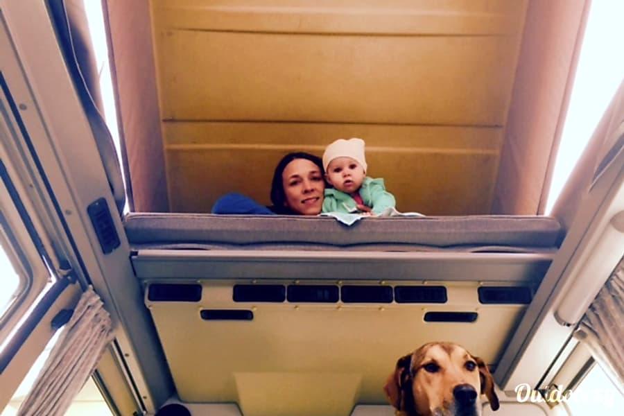 interior Blue Ox Camper + Sleep/Kitchen/Camp Gear St. Paul, MN
