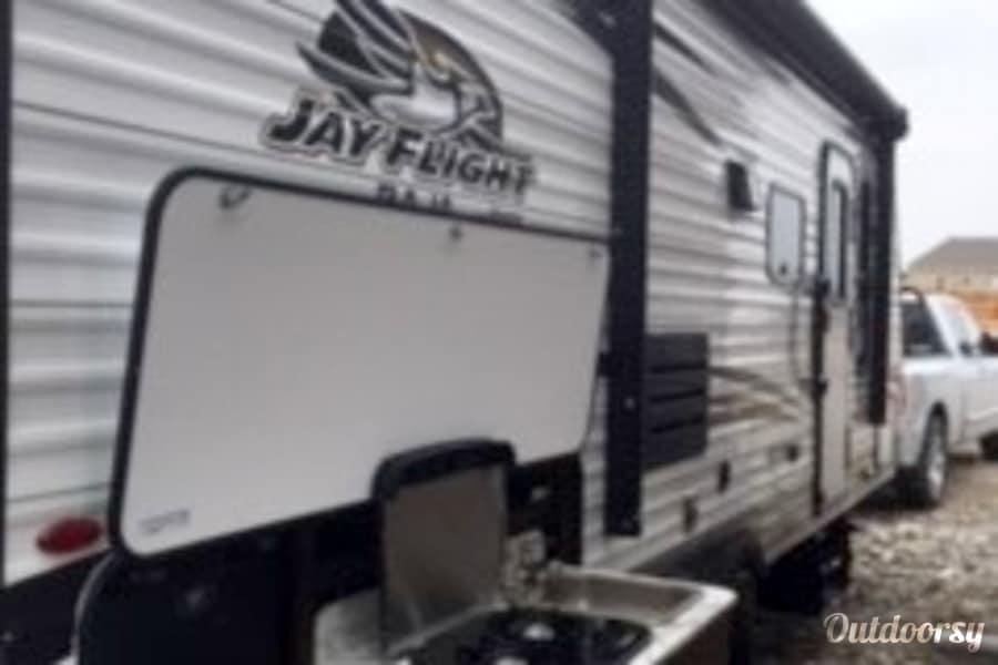 exterior 2018 Jayco Baja Pulls light but sleeps 7 Rigby, ID