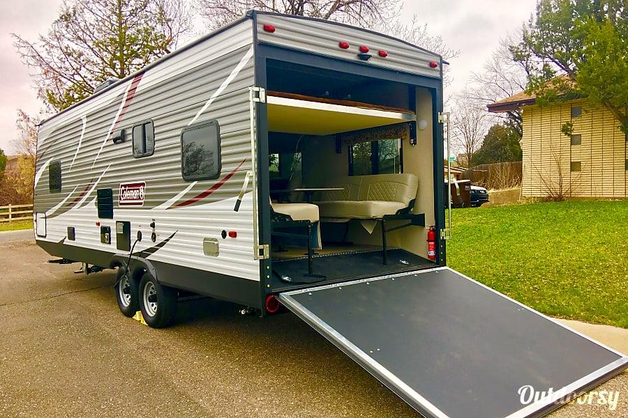 Coleman Pop Up Camper Toy Hauler – Wow Blog