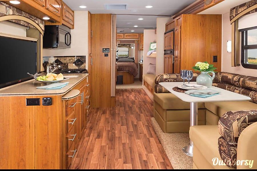 interior 2016 Jayco Precept Fully Stocked Memorial Day Special and June Specials Marlborough, MA