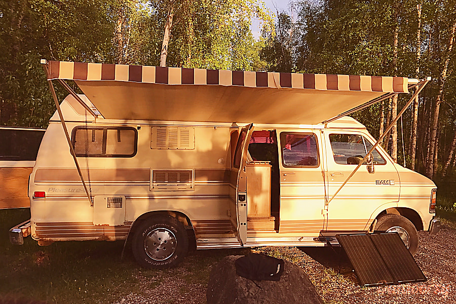 Pleasure Way Rv >> 1988 Dodge Pleasure Way