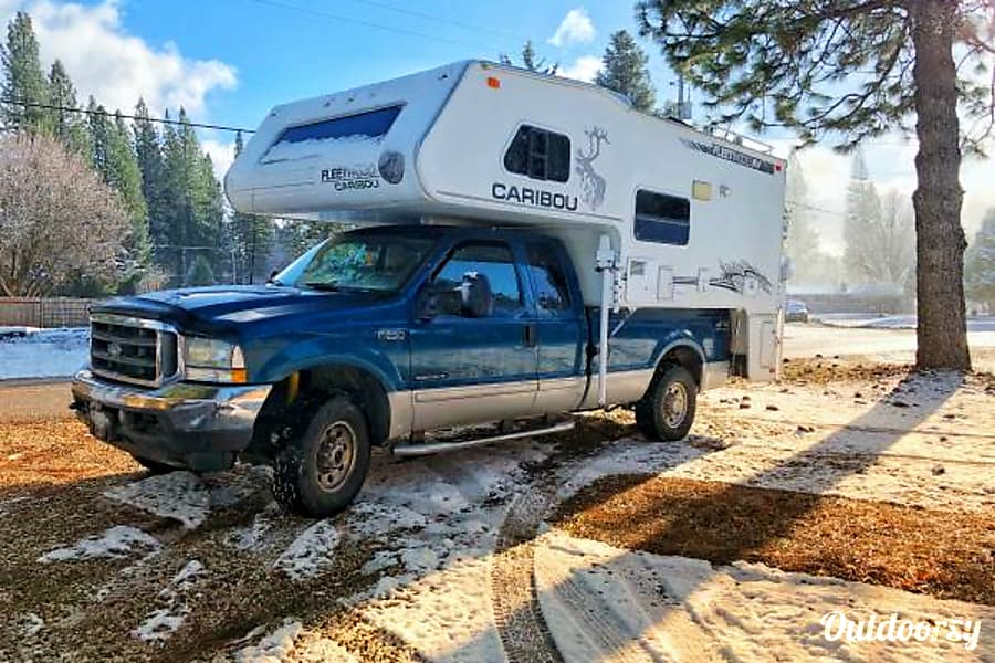 4x4 Ultimate Truck and Camper RV Combo