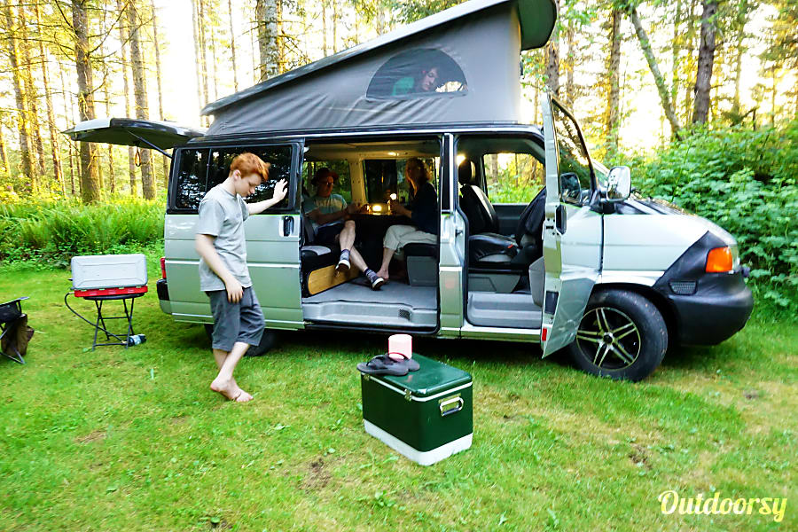 The Big Zip: Eurovan Weekender Portland, OR