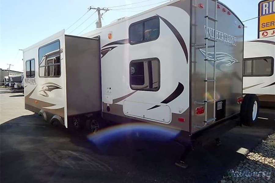 exterior 2014 Jayco White Hawk Ultra Lite Lethbridge, AB