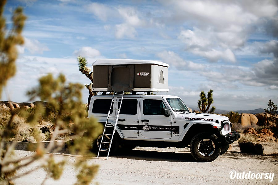 Usa Auto Insurance >> 2018 Jeep Wrangler Motor Home Camper Van Rental in San ...