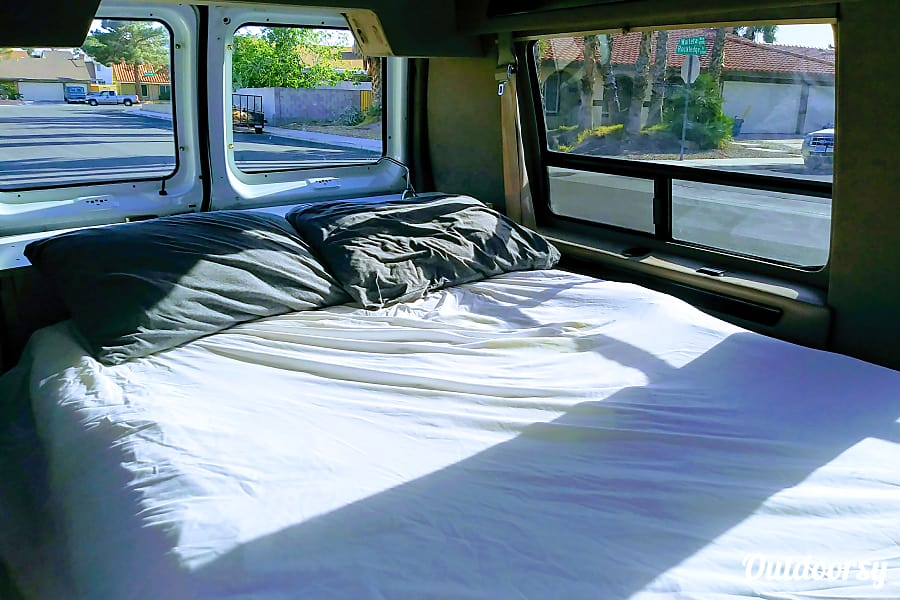 interior Ford e150 campervan Las Vegas, NV