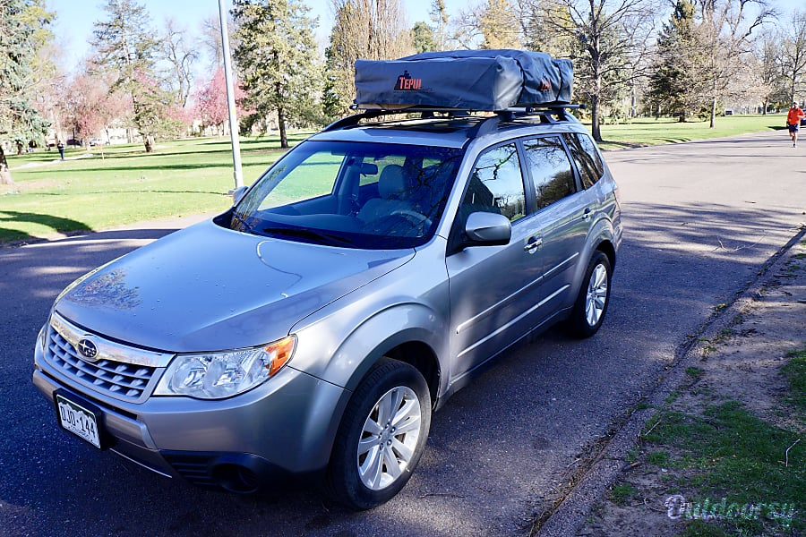 Subaru Forester + 3 Person Tepui Tent + Camp Gear Denver, CO