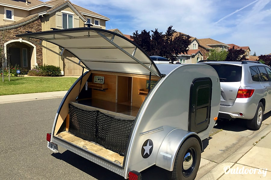 Teardrop Travel Trailer Rancho Cordova, CA