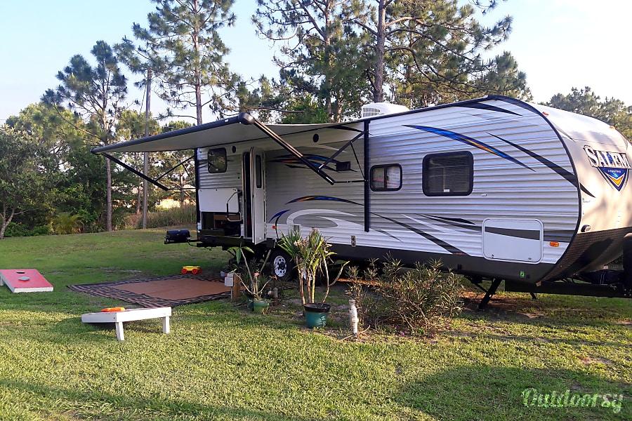 exterior THE BEAUTIFUL SALEM 27 DBK Micco, FL
