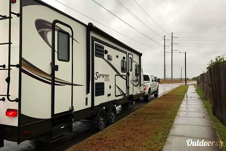 exterior 2014 Forest River Surveyor Sport Corpus Christi, TX