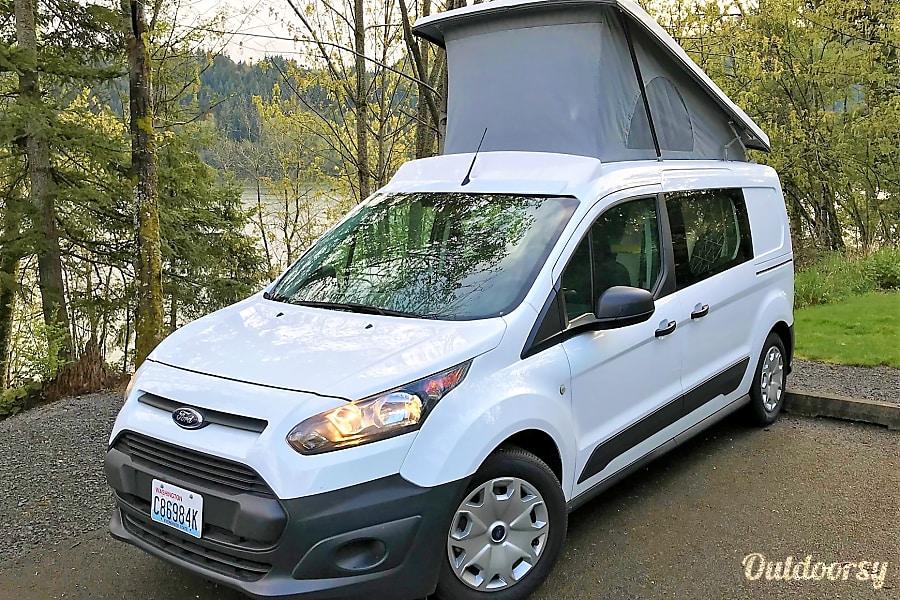 2016 ford transit connect motor home camper van rental in seatac wa outdoorsy. Black Bedroom Furniture Sets. Home Design Ideas
