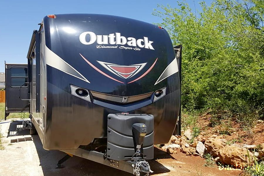 exterior GK's Ultimate Mobile Vacation Station Abilene, TX