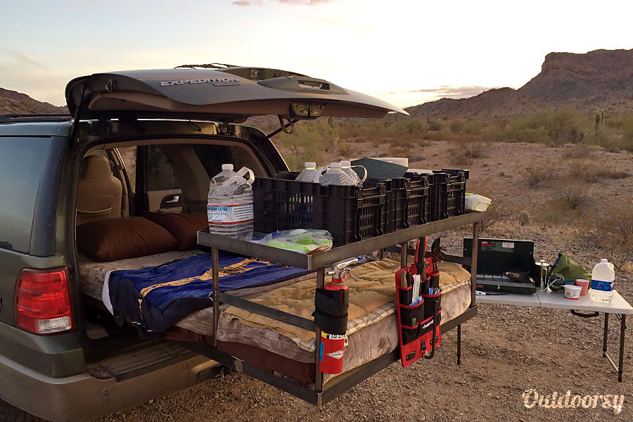 "interior Blackbird, the Adventure Rig!  ""Wouldn't hesitate to rent it again!!"" 