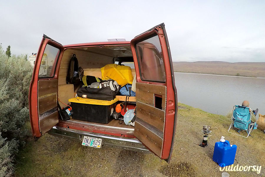 1984 Chevy Adventure Van Hood River OR Space For All Your Toys
