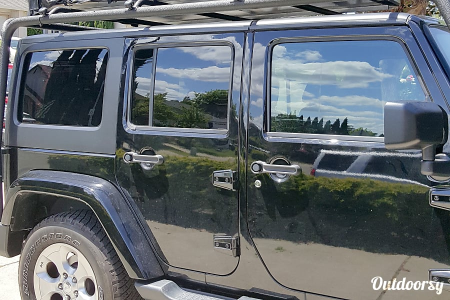 exterior Everything you need for an Adventure! 2016 Jeep Wrangler + Rooftop Tent Pleasant Hill, CA