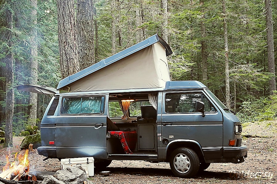 exterior Dream Machine - Full Camper - Manual Portland, OR