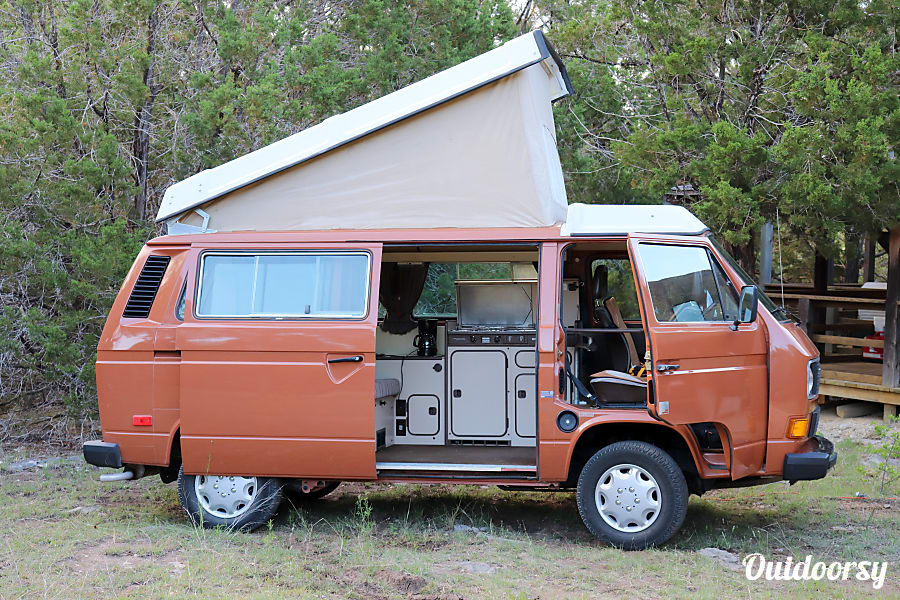 1984 Volkswagen Westfalia Motor Home Camper Van Rental In