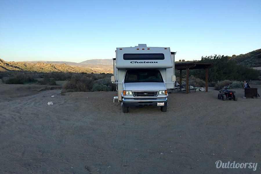 exterior Chateau Four Winds RV Sierra Madre, CA