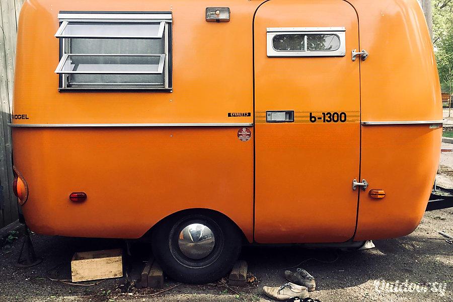 exterior 1976 Boler Wandervogel Toronto, ON