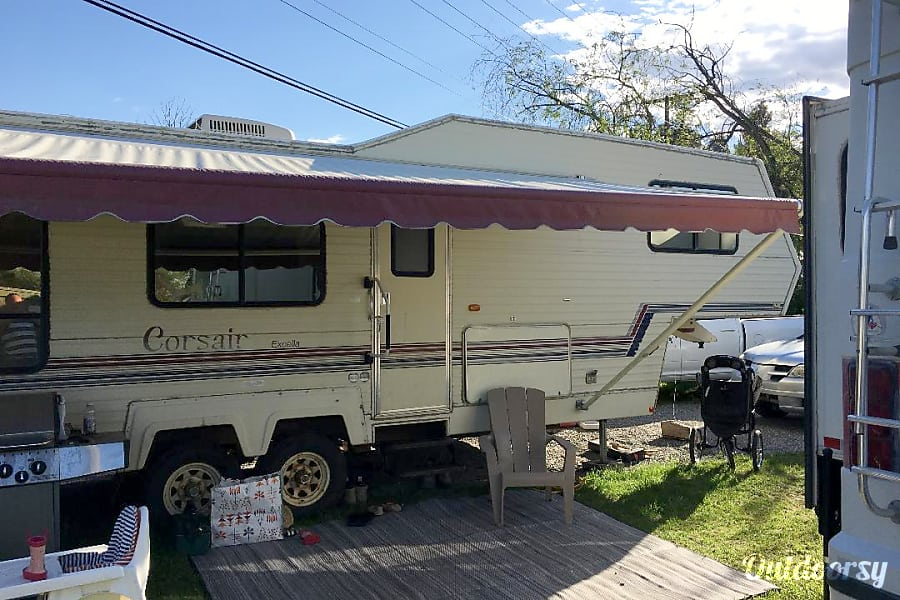 1993 Other Corsair Fifth Wheel Rental In Kelowna Bc Outdoorsy. 1993 Other Corsair Kelowna Bc Exterior With Large Awning. Wiring. Corsair Travel Trailer Wiring Diagram At Scoala.co