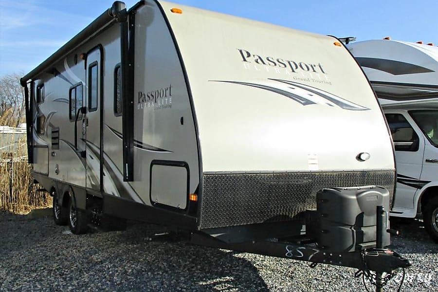 exterior 2015 Keystone Passport 2400BH - The Andrew! Henrico, VA