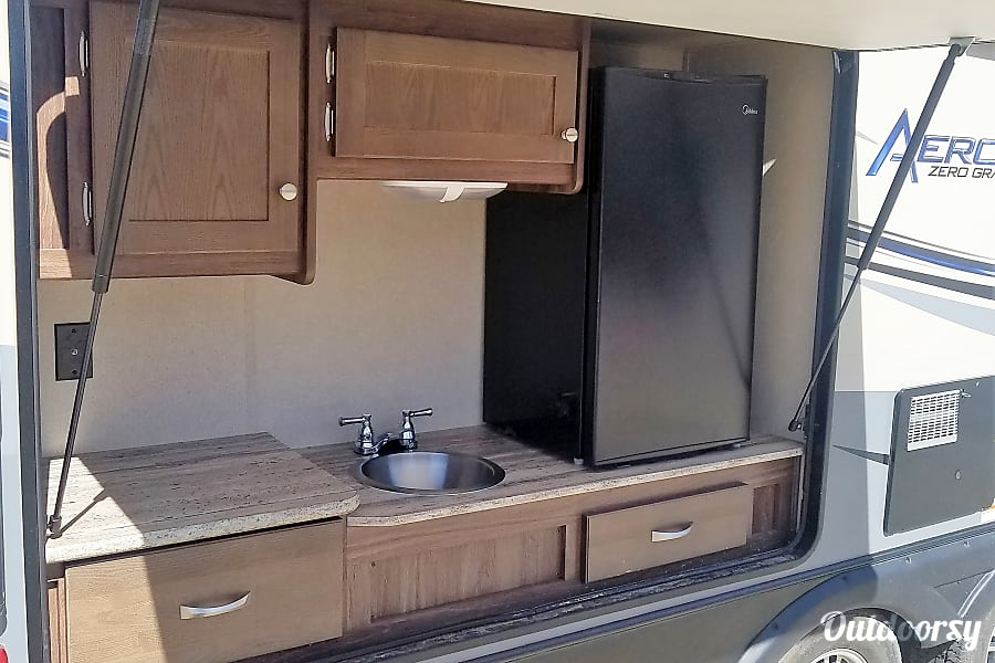 exterior 2016 Aerolite Travel Trailer Albuquerque, NM