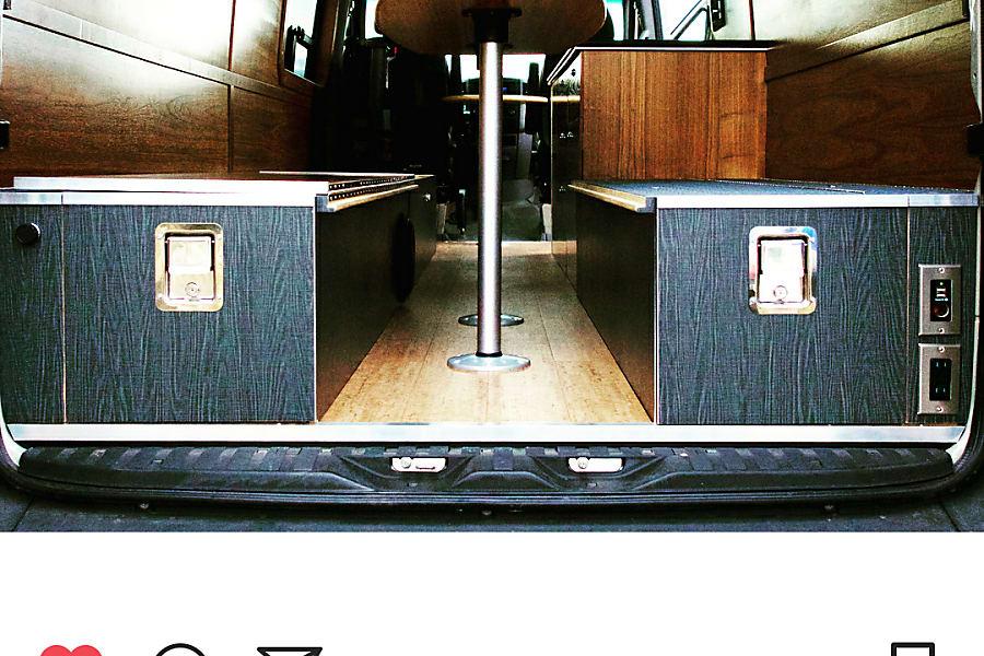 interior Custom Sprinter - Offgrid luxury | Turnkey van life experience Austin, TX