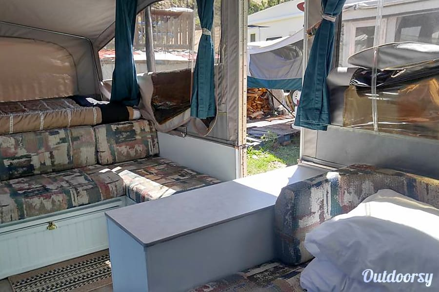 interior 1996 Jayco 1207 Camping Trailer Sedalia, CO