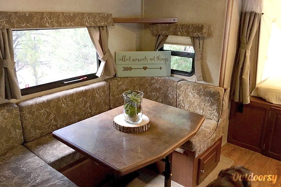 interior 2015 Forest River Rockwood Roo Fort Collins, CO