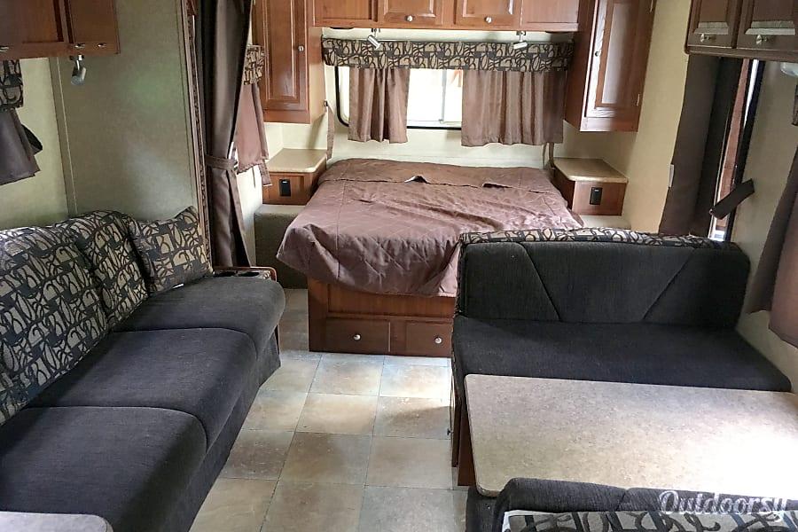 interior 2011 Forest River Rockwood Mini Lite Providence, UT