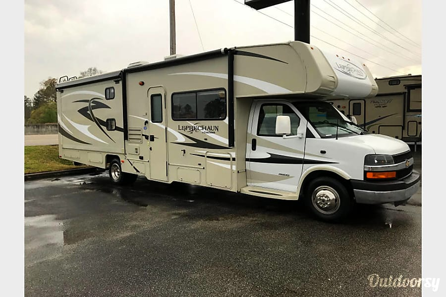 exterior Looking For Adventure 2014 Coachmen Leprechaun Taylors, SC