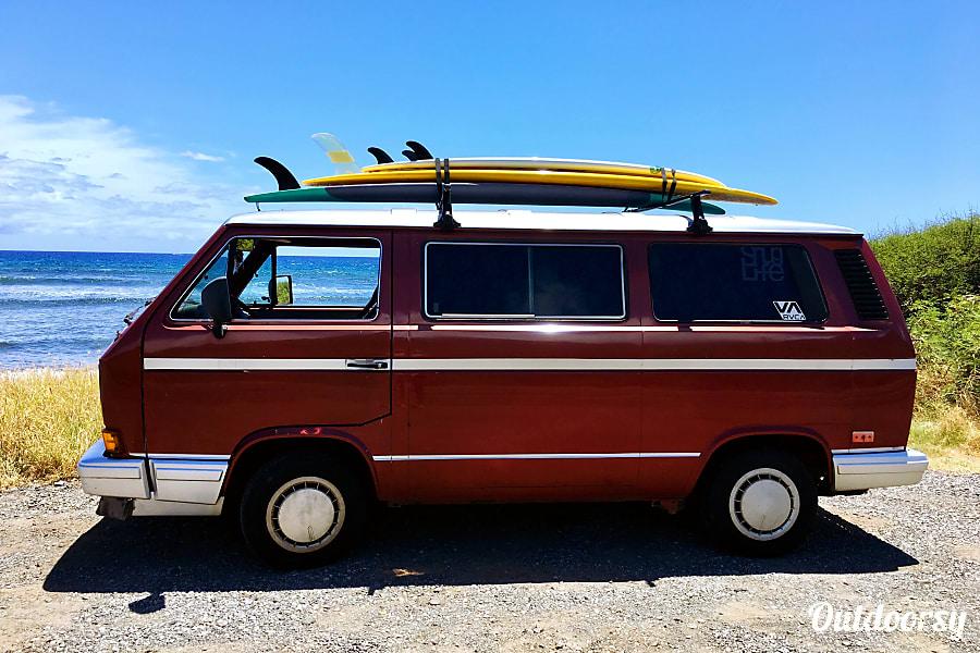 "exterior ""RUBY"" Surf-Sleep-Explore Paia, HI"