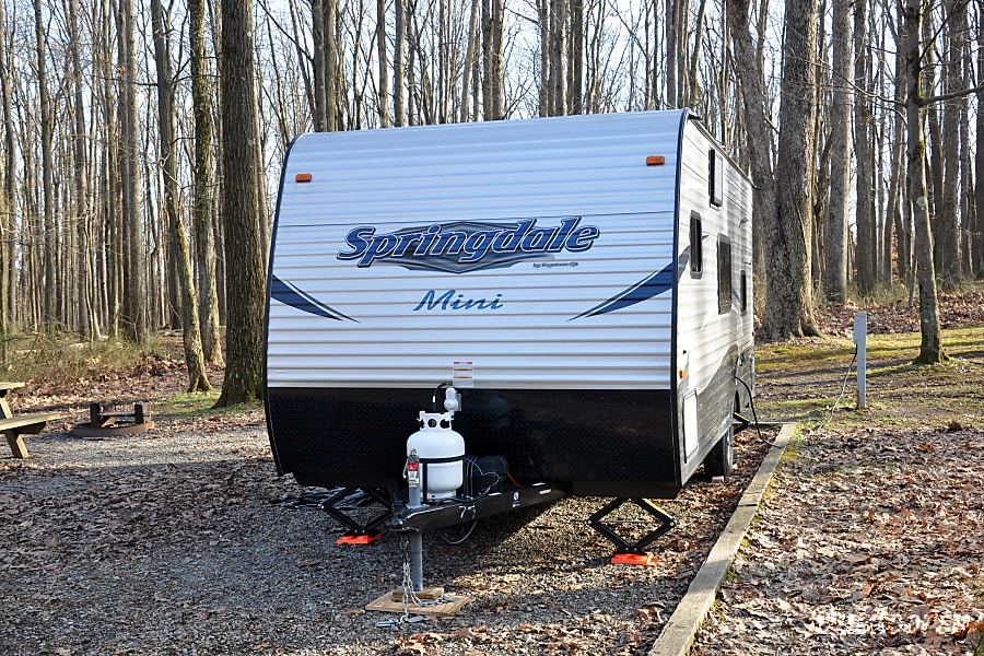 exterior 2018 Springdale Mini 1800BH, 21 ft, w/Bunkbeds! Gibsonia, PA