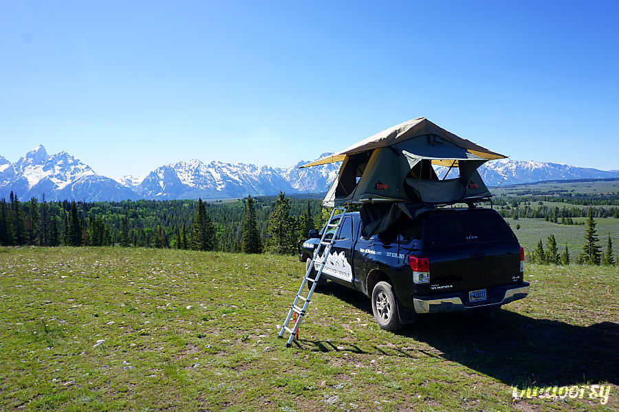 4x4 Toyota Tundra with Tepui Roof top Tent Jackson, WY
