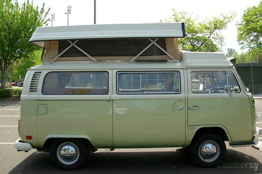 "1972 Volkswagen Westfalia ""Sweet Pea"" Providence, RI"