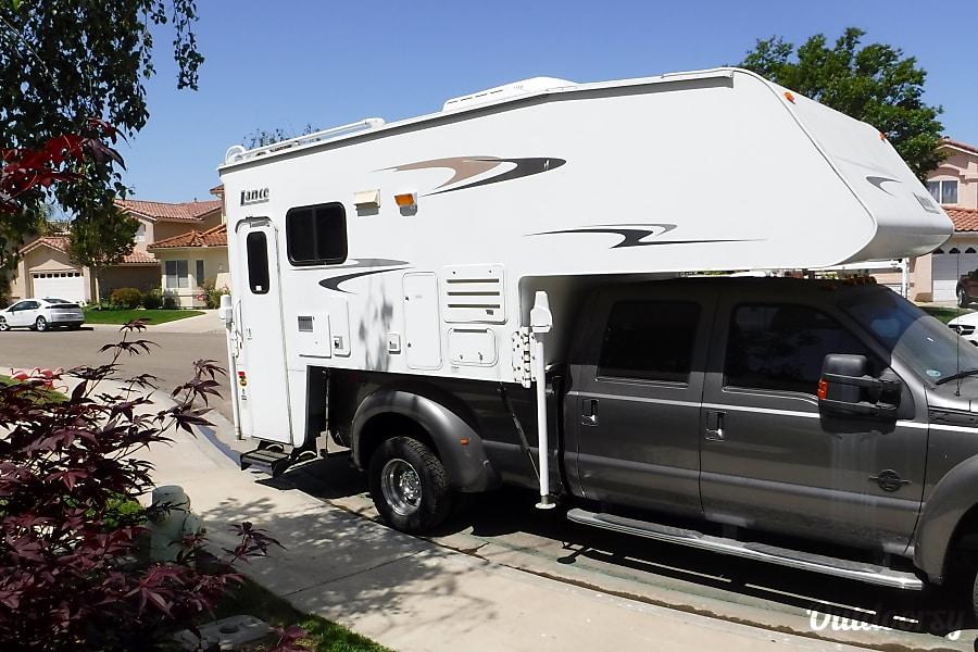 2006 Lance Max 1191 w/2011 F450 4X4 Super Duty Crew Cab Truck Santa Maria, CA
