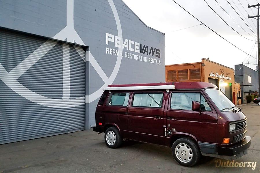 Peace Vans #21: Quilcene - Vanagon Full Camper Seattle, WA