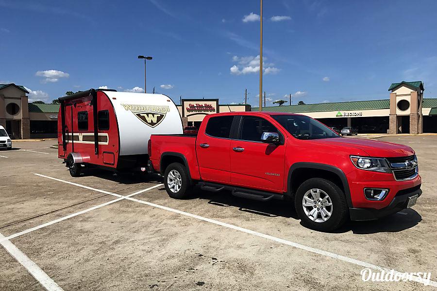 exterior 2017 Winnebago Winnie Drop--Big Red Huffman, TX