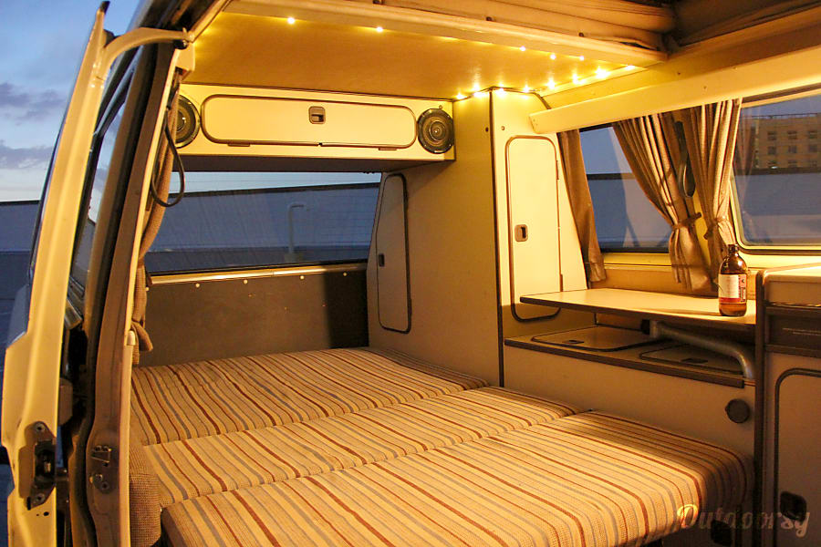 interior Eleanor the Van Denver, CO