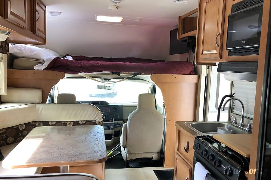 interior 2016 Winnebago Minnie Winnie 22R Broomfield, CO