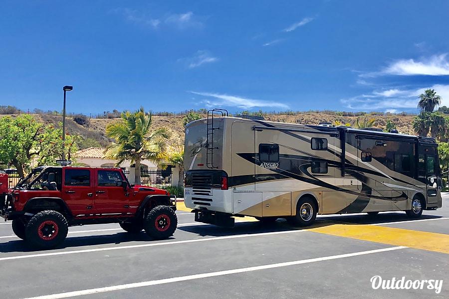 exterior 2010 Tiffin Motorhomes Allegro Red - FULLY LOADED! Santa Ana, CA
