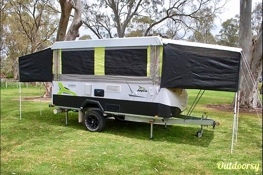 2015 Jayco Swan Outback Trailer Rental In Lonsdale Sa