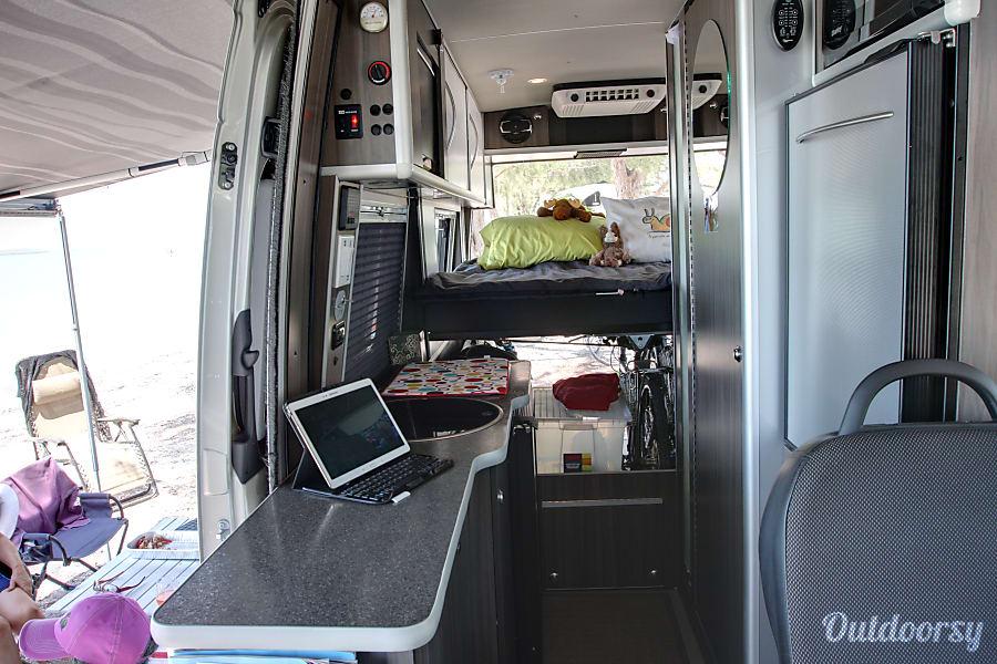 interior Mercedes-Benz 4x4 Sprinter Van/Safari Condo conversion Durango, CO