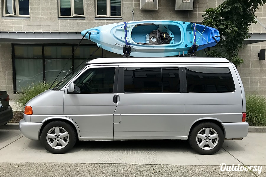 exterior 2002 Volkwagen Eurovan Weekender Westy. Fully outfitted, enjoy our gear, no additional charge! Seattle, WA