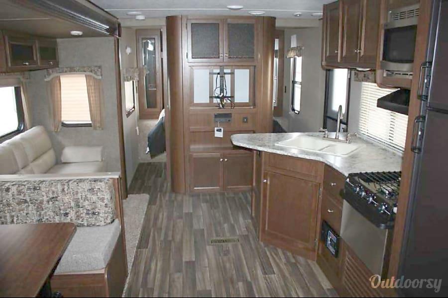 interior 2017 Keystone Hideout Arp, TX