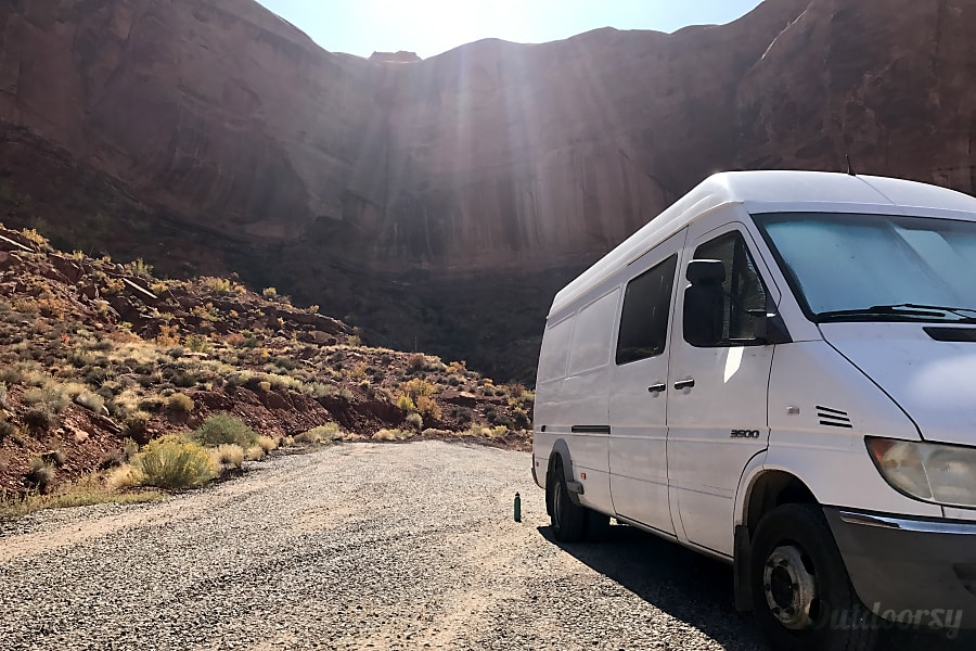 exterior Extra Large Dodge Sprinter Van - Perfect for Families and Couples Las Vegas, NV