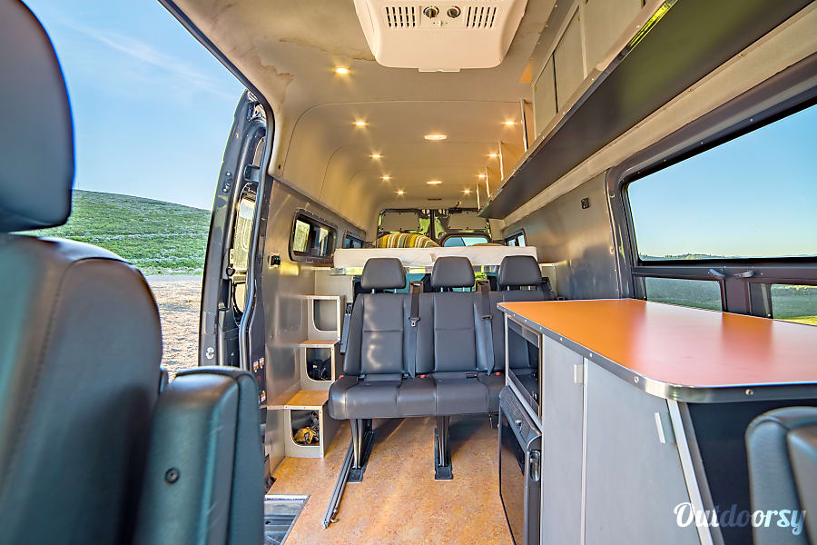 2017 mercedes sprinter motor home camper van rental in west valley city  ut