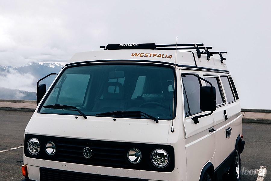 exterior Halliday Adventures: Northway 1987 Volkswagen Westfalia Enumclaw, WA