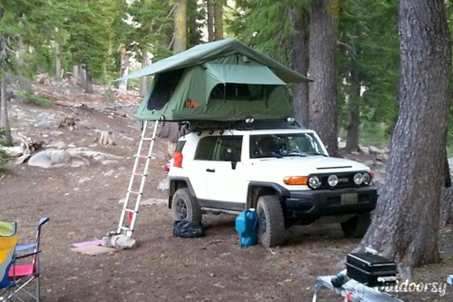 2012 Toyota Fj Cruiser Motor Home Truck Camper Rental In